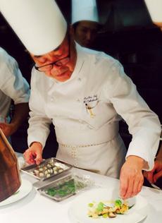 ホテル日航福岡の取締役総料理長 中橋義幸エグゼクティブシェフ