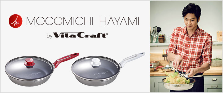 MOCOMICHI HAYAMI by Vita Craft ブランドサイトへ