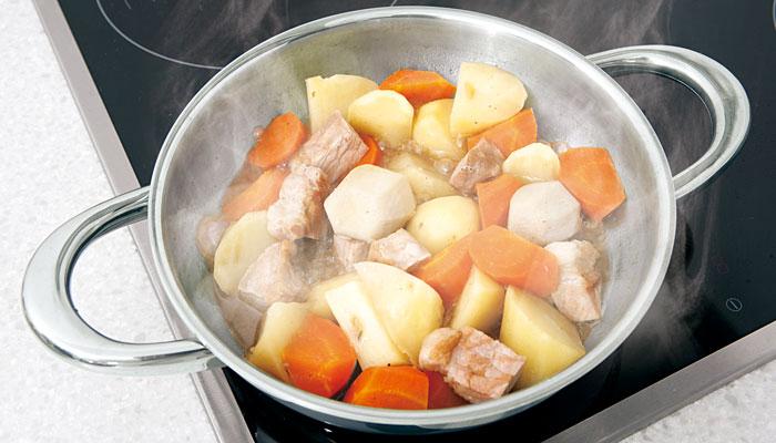 【減塩】少ない調味料で「煮る」